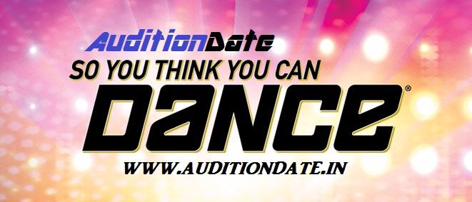 &TV So You Think You Can Dance Auditions, Registration form